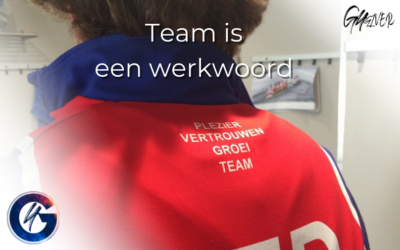 'Team' is een werkwoord